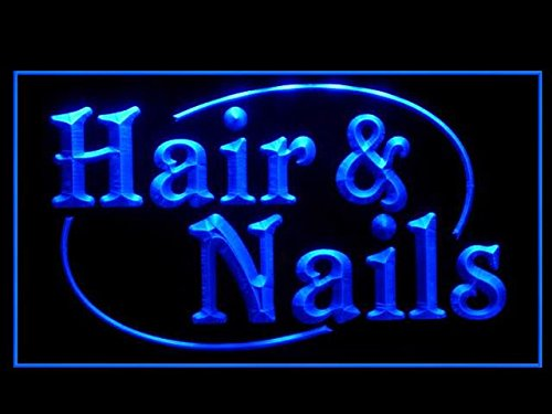 C B Signs Hair And Nails Salon Led Sign Neon Light Sign Display
