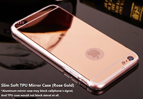 CORST-Case-Cover-TPU-Specchio-Custodia-protettiva-per-iPhone-6Plus6S-Plus-55-inchRosa