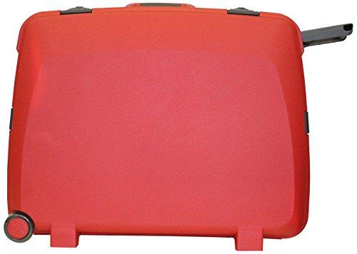 Princeware Princeware Olympia Polypropylene 61 Cms Red Suitcase (6643)