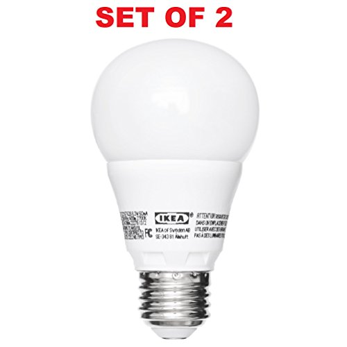 Ikea E26 LED Light Bulb 400 Lumen 2 Pack