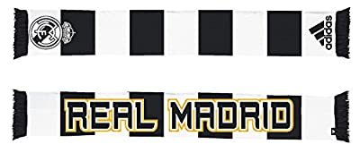 Real Madrid Soccer Futbol Adidas Authentic S386 Jacquard Team Scarf