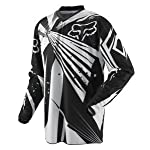 FOX HC UNDERTOW YOUTH MX/OFFROAD JERSEY BLACK MD
