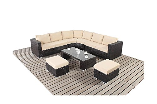 kingston gartenm bel ecksofa set rund bestellen. Black Bedroom Furniture Sets. Home Design Ideas