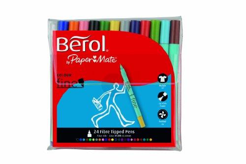 berol-s0376530-feutres-colour-broad-pointe-de-06mm-assortiment-de-couleurs-lot-de-24