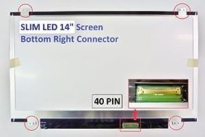 Lenovo B460 Laptop Screen 14 SLIM LED BOTTOM RIGHT WXGA HD