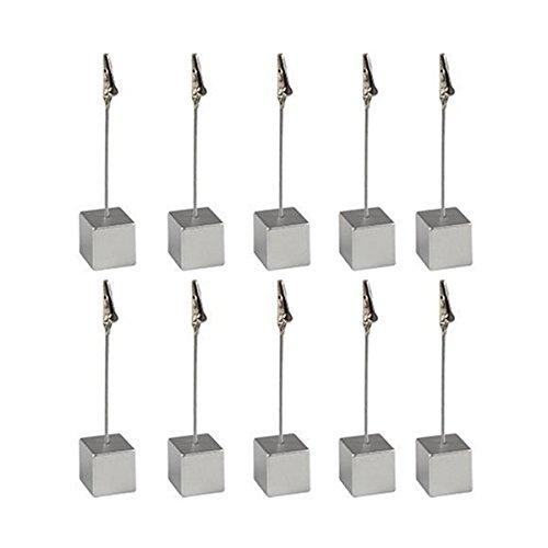 pixnor-10pcs-cubo-memo-holder-tarjeta-nota-clip-foto-clips-de-papel-plata