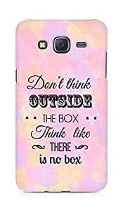 Amez Dont think Outside the Box think like there is no Box Back Cover For Samsung Galaxy J5
