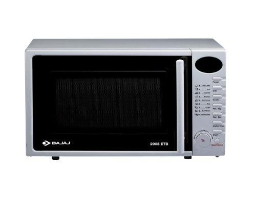 Bajaj 2005 ETB 20-Litre Microwave Oven (White)