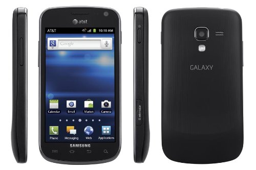 Samsung Exhilarate I577 4G LTE Unlocked GSM Dual-Core Android Smartphone - Black-Refurbished