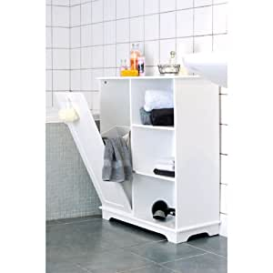 bathroom cabinet clothes laundry towel storage cabinet white cupboard