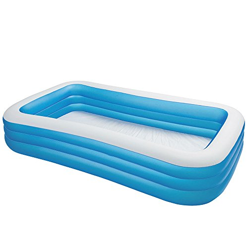 Intex Swim Center Family Inflatable Pool, 120″ X 72″ X 22″, for Ages 6+