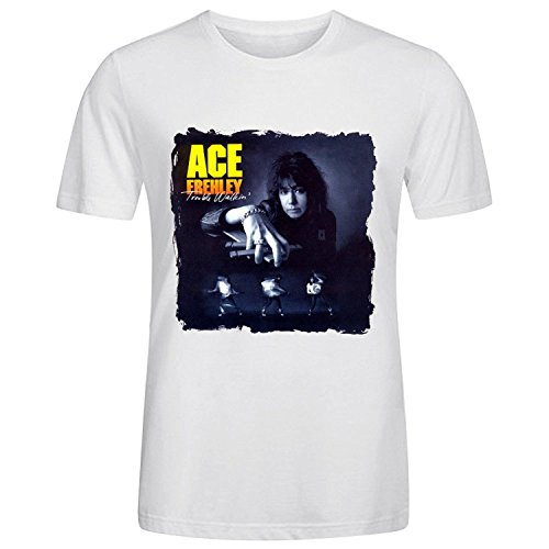 Ace Frehley Trouble Walkin T Shirts For Men