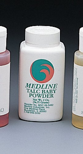 Medline MSC095490H Talc Baby Powder, 4oz.