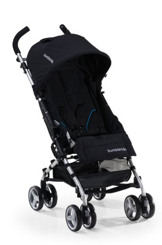 Bumbleride 2011 Flite Lightweight Compact Travel Stroller, Jet (Discontinued by Manufacturer)