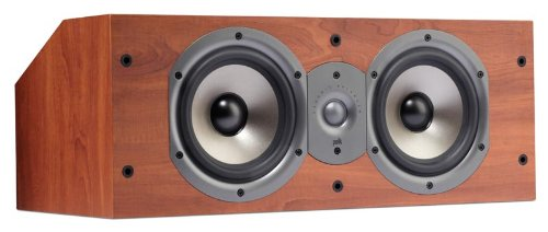 Polk Audio Monitor 25C Two-Way Center Channel Speaker (Single, Cherry)