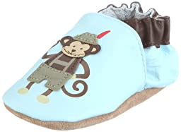 Robeez Infant Boys Hallo Heinz Ang Blue/Brown 12-18 Months