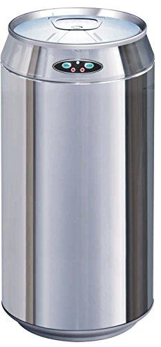 Kitchen Move BAT-42LK AS Contemporain Poubelle Automatique de Cuisine Inox/ABS 42 L