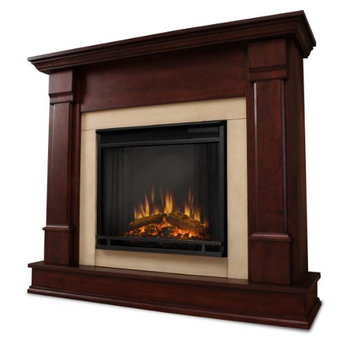 Real Flame Silverton G8600-X-Dm Electric Fireplace In Dark Mahogany - Mantel Only