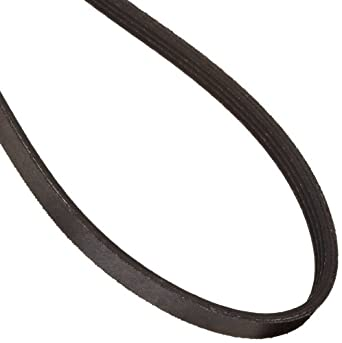 "Continental ContiTech 975L4 Poly-V Belt, 4 Ribs, 0.38"" Height, 0.185"" V-Width, 97.5"" Nominal Outside Length"