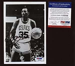 Signed Reggie Lewis Photo - Boston Celtics PSA DNA - Autographed NFL Photos by Sports Memorabilia
