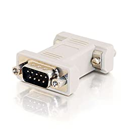 C2G / Cables To Go 02771 DB9 M/M Serial RS232 Gender Changer (Coupler)