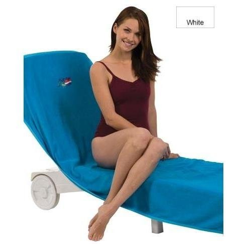 Chaise lounges terry town velour chaise lounge chair for Chaise lounge covers terry cloth