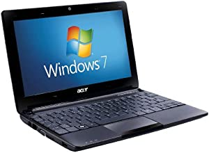 Acer Aspire One D257 10.1 inch Netbook (Intel Atom N570 Dual-Core Processor, 1GB RAM, 250GB HDD, 8 Hours Battery Life, Bluetooth, Windows 7 Starter & Android) - Black