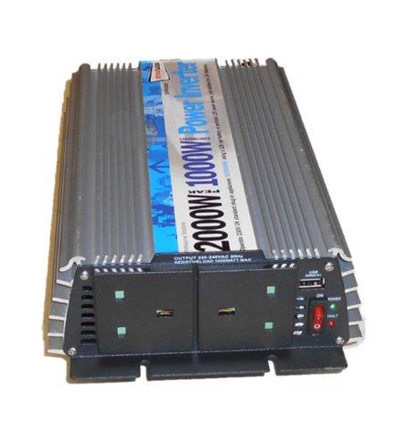 Streetwize SWINV1000 Peak Inverter 1000/ 2000 W