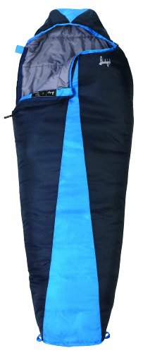 Slumberjack Latitude 40 Degree Synthetic Sleeping Bag, Regular