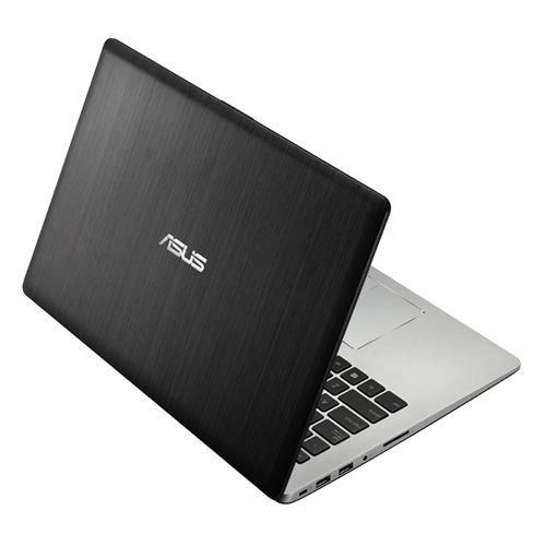 Asus S400CA-CA012H VivoBook Portatile, Display 14 Pollici, Touchscreen LED, Processore Intel Core i5 1.7 GHz, RAM 4 GB, HDD Hybrid 500 GB + 24 GB SSD, Windows 8, Grigio