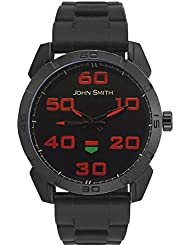 John Smith Black Dial Analog Watch For Men - JS10030_BL