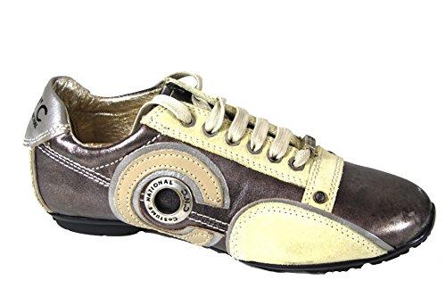 CNC by COSTUME NATIONAL, Sneaker donna Beige Metallische Töne 35