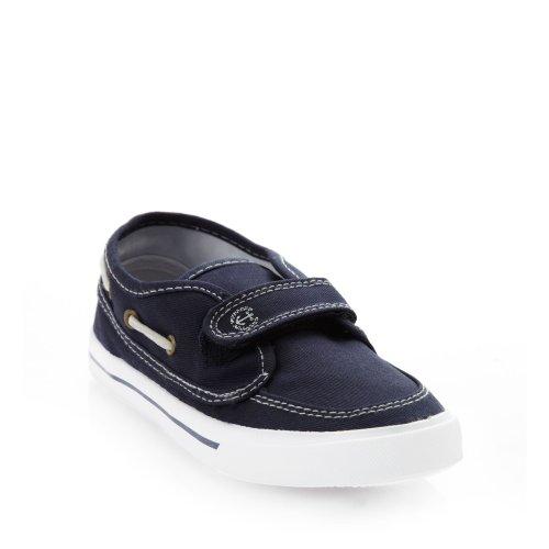 bluezoo Bluezoo Boys' Navy Canvas Boating Shoes