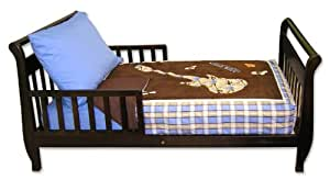 Trend Lab 4 Piece Toddler Bedding Set, Rockstar (Discontinued by Manufacturer)