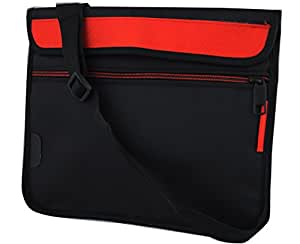 Saco Soft Durable Pouch for HP Omni 10Tablet Red
