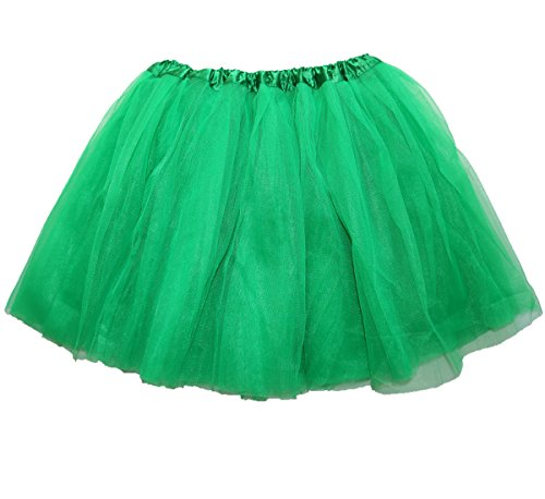 Fluffy Green Adult Ballet Tutu