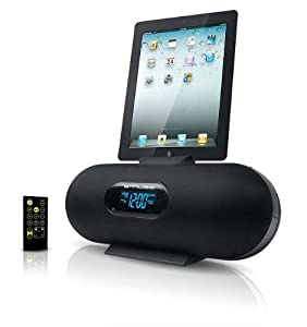 Dock station incinta M-158-IP Muse per Apple Nouvel iPad 3 Apple iPhone 4S Apple iPad 2 Apple Nano 6