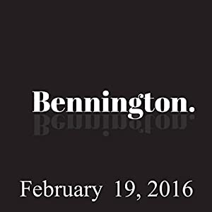 Bennington, Al Madrigal, Adam Ferrara, and Paul Morrissey, February 19, 2016 Radio/TV Program