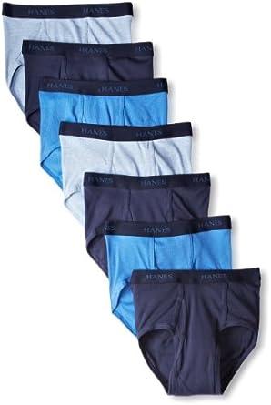 (历史最低)恒适Hanes 男士经典内裤7条装 Classics 7 Pack Full-Cut Pre-Shrunk $14.13
