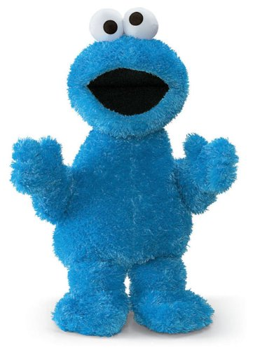 "21"" Sesame Street Soft And Silky Cookie Monster Doll Children'S Stuffed Animal Toy front-845625"