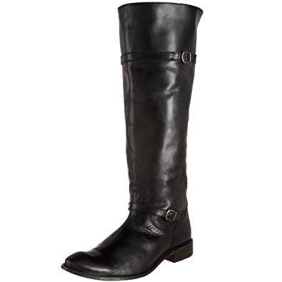 FRYE Women's Shirley Riding Boot,Black,6.5 M US
