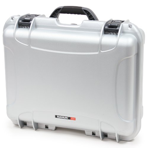 Nanuk 930 Case With Cubed Foam (Silver)
