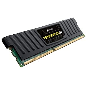 Corsair Vengeance Low Profile 8 GB PC3-12800 1600mhz 240-Pin DDR3 Dual Channel Memory Kit SDRAM CML8GX3M2A1600C9