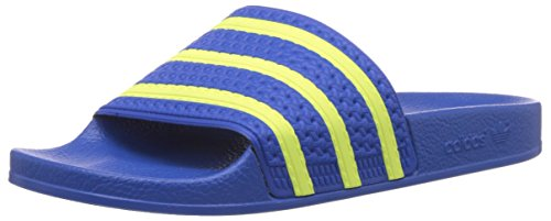 Adidas ADILETTE 280647, Sandali unisex adulto, Blu(Blau (Bluebird/Light Flash Yellow S15/Bluebird)), 48 2/3