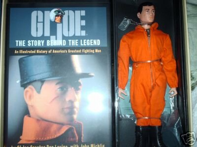 Picture of Hasbro GI Joe Action Pilot. Masterpiece Edition. Complete Unopened. Figure Has Black Hair. (B0016JD4T8) (G.I. Joe Action Figures)