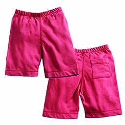 Babysoy Soy Soft Shorts , Blossom 12 18 Months