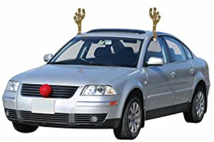 Mystic Industries 88025 Lighted LED Reindeer Car Costume