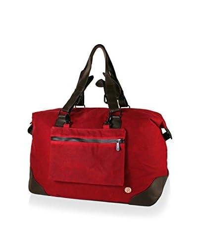 Token Men's Zip Bag, Red