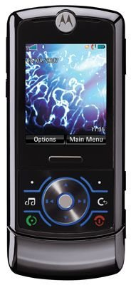 Motorola ROKR Z6 Unlocked Cell Phone with 2 MP Camera, MP3/Video Player, MicroSD Slot--U.S. Version with Warranty (Black)