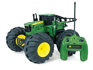 John Deere - 42921 - Jouet de Premier Age - Tracteur Radiocommandé - Monster Treads